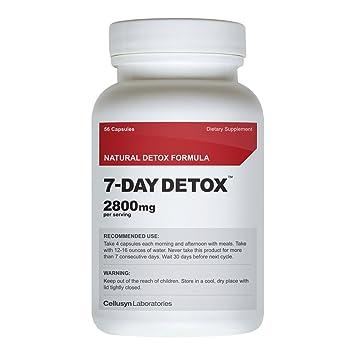 7 day detox diet pills