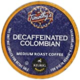 Timothys Decaf Colombian K-Cup packs for Keurig Brewers, 50 count