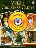 Vintage Christmas Cards CD-ROM and Book (Dover Electronic Clip Art)