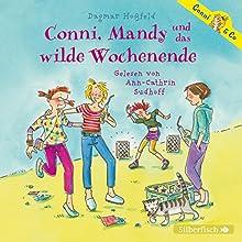 Conni, Mandy und das wilde Wochenende (Conni & Co 13) Hörbuch von Dagmar Hoßfeld Gesprochen von: Ann-Cathrin Sudhoff