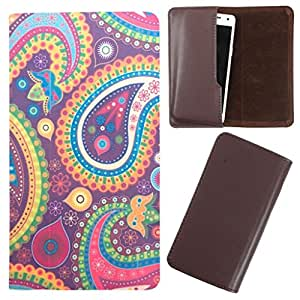 DooDa - For Microsoft Lumia 540 PU Leather Designer Fashionable Fancy Case Cover Pouch With Smooth Inner Velvet