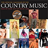 Country Music Hall of Fame Calendar (0789307316) by RIZZOLI