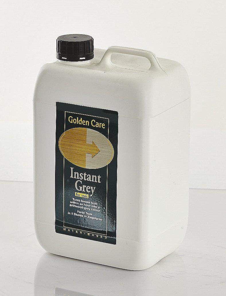GOLDEN CARE Teak Instant Grey 3 Liter Holz Reiniger Holzschutz Holzpflege für Gartenmöbel günstig