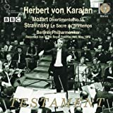 echange, troc  - Mozart : Divertimento N°15 K.287 - Stravinski : Le Sacre Du Printemps