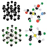 Chemistry Molecular Model Set - 267 Pcs Organic Inorganic Biochemistry Molecular Model Kit with 116 Atoms,150 Links, 1 Bond Remover for Student,Teachers,Young Scientists by Bemaxy