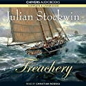 Treachery Audiobook by Julian Stockwin Narrated by Christian Rodska