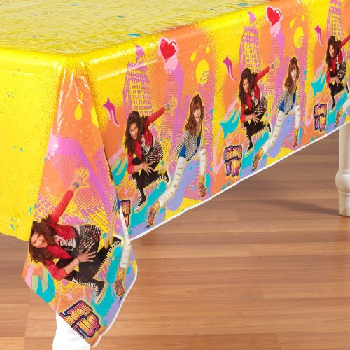 Shake It Up Plastic Table Cover (1ct)