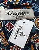 Disney Parks Mens Mickey Mouse Necktie - Blue - One Size Neck Tie