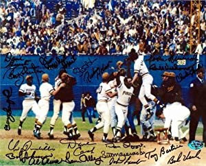 1971 Pittsburgh Pirates autographed photo (18 signatures World Champions) 8x10 Bill... by Autograph Warehouse