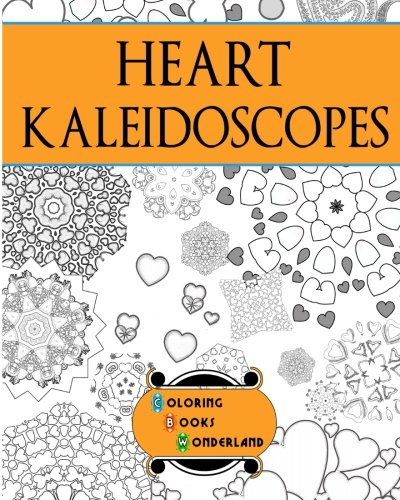 Heart Kaleidoscopes - Coloring Book