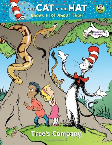 Tree's Company (Dr. Seuss/Cat in the Hat) (Reusable Sticker Book)