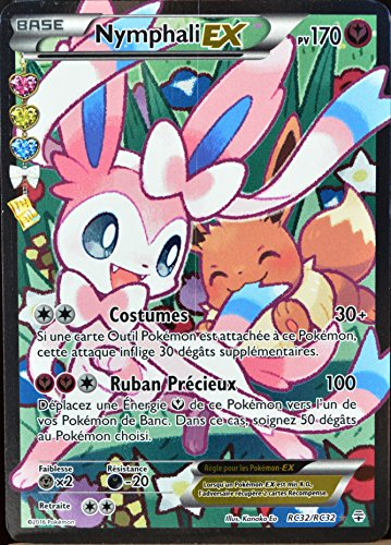 carte Pokémon RC32 Nymphali-EX 170 PV - ULTRA RARE - FULL ART