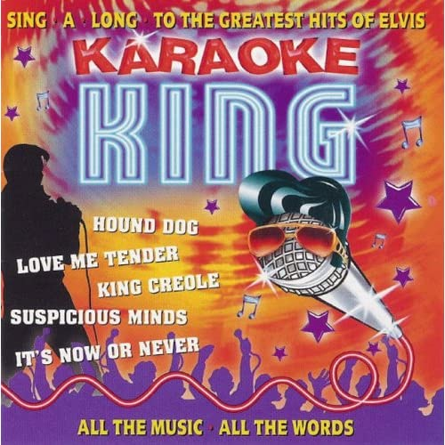 Karaoke-King-Vol-1-Elvis-Presley-Audio-CD