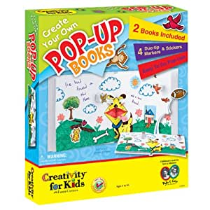 Creativitiy for Kids - Create Your Own Pop-Up Books - Educational Toys