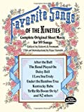 Favorite Songs of the 1890s (Dover Song Collections)