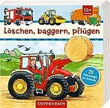 Löschen, baggern, pflügen: 20 Fahrzeuge im Einsatz von Coppenrath