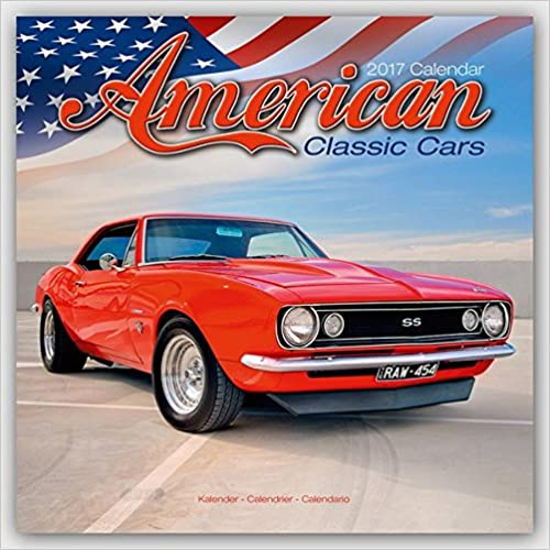 American Classic Cars Calendar 2017