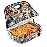 Quilted Paisley Casserole Carrier