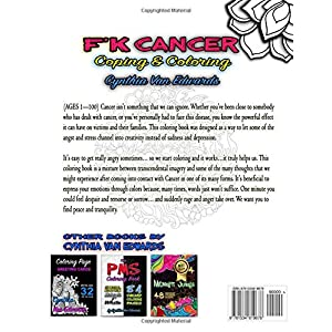F'k Cancer - Coping & Coloring: The Adult Coloring Book Full of Stress-Relieving Coloring Pages to Support Cancer Survivors & Cancer Awareness ... Boo