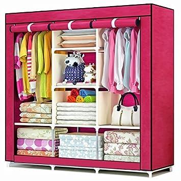 Anva Folding Wardrobe Almirah A3 Non Woven Fabric Cloth. Anva Folding Wardrobe Almirah A3 Non Woven Fabric Cloth  Amazon in