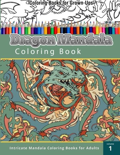 Dragon Mandala Coloring Book