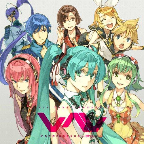 EXIT TUNES PRESENTS Vocalonexus (ボカロネクサス) feat.初音ミク(ジャケットイラストレーター 左) 【数量限定オリジナルストラップ付き】