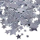 Silver Star Confetti
