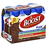 Boost Plus Nutritional Drink, Complete, Rich Chocolate, 6 - 8 fl oz (237 ml) bottles 1.5 qt (1.42 lt)