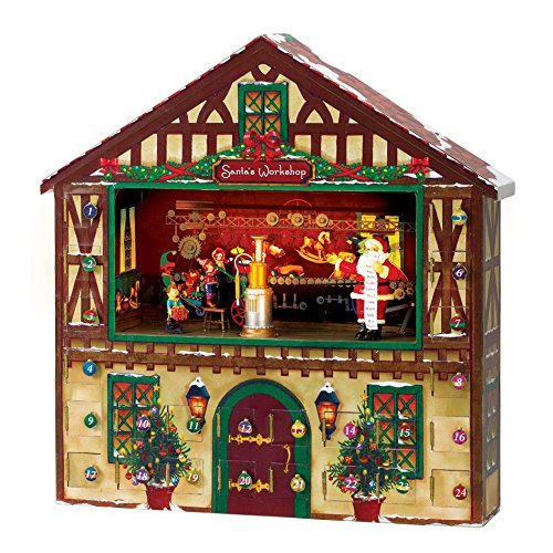 Mr. Christmas Animated Musical Advent House (Advent House compare prices)
