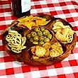 Socorro Acacia Serving Dish - Wooden Bowl Snack Bowl