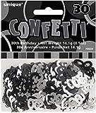 Âge Noir et Argent 30 Confetti