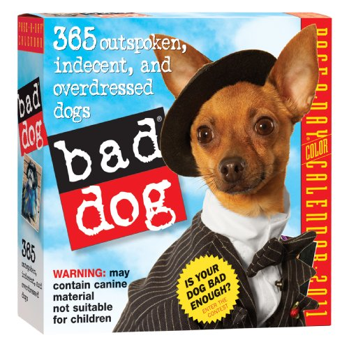 Bad Dog Page-A-Day Calendar 2011