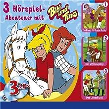 Bibi und Tina 3er-Box I Hörspiel von Ulli Herzog, Ulf Tiehm Gesprochen von: Susanna Bonaséwicz, Dorette Hugo, Joachim Nottke
