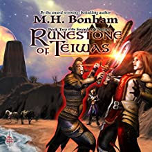 Runestone of Teiwas Audiobook by M.H. Bonham Narrated by David Price