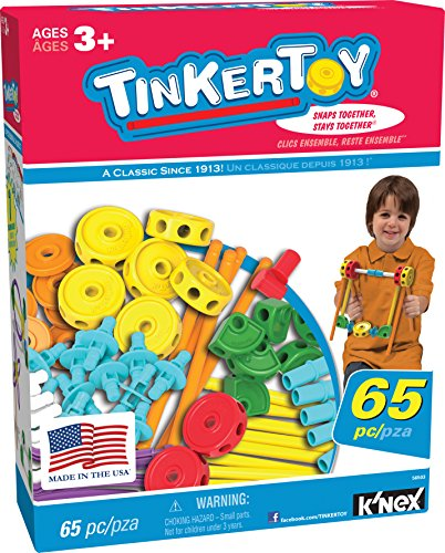TINKERTOY 65 Piece Essentials Value Set JungleDealsBlog.com