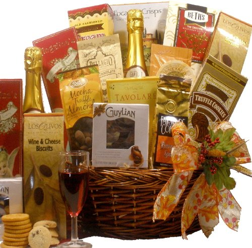 Give Thanks Gourmet Food Gift Basket - A great gift for Thanksgiving Day!