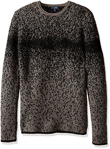 Maglia Girocollo in misto lana a fantasia.Maglioncino Uomo Armani Jeans 6X6MD8-6M0UZ2740 misto lana