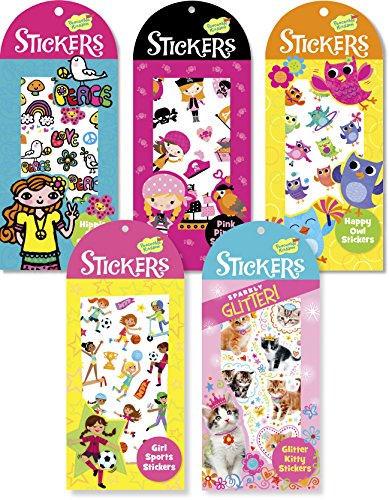 Peaceable Kingdom Tween Scene Sticker Party Assortment