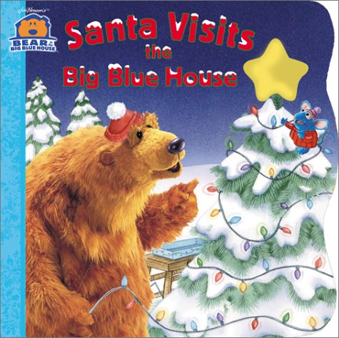 Santa Visits the Big Blue House (Bear in the Big Blue House (Board Books Simon & Shuster))