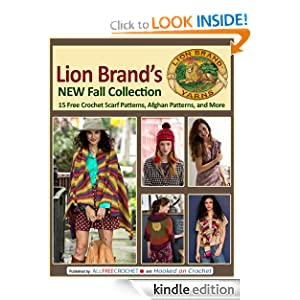 Lion Brand's New Fall Collection: 15 Free Crochet Scarf Patterns, Afghan Patterns, and More