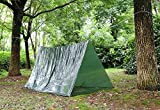 Tube Tent, Emergency Shelter Tent, Emergency Zone Brand, 1 and 3 Packs Available (3 Pack)