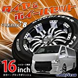 16インチ 4本セット サマータイヤ&ホイール GOODYEAR 215/65R16 CUERVO