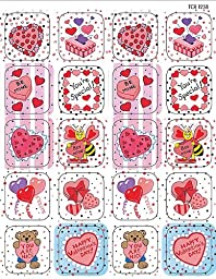 Teacher Created Resources Valentine\'s Day Stickers, Multi Color (1258)