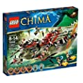 Lego Legends Of Chima - Playth�mes - 70006 - Jeu de Construction - Le Croc Navire Cragger