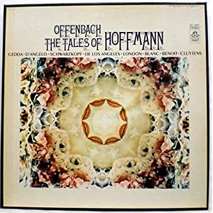 The tales of hoffman offenbach vinyl lp 3 record boxed set