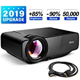 RAGU Z400 Mini Projector, 2019 Upgraded Full HD 1080P 180