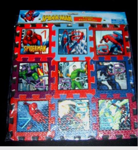 Cheap Colortech (2 Piece) Spider-man Foam Play Mat Set (B002TXKKA6)