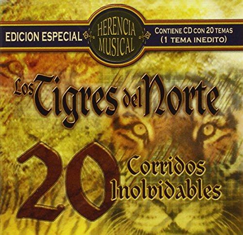 Los Tigres Del Norte - Herencia Musical - 20 Corridos - Zortam Music