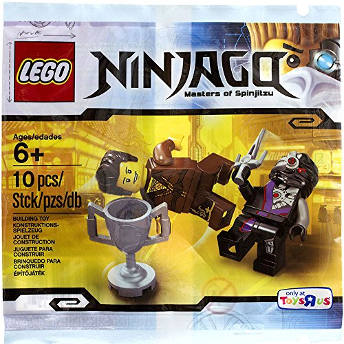 LEGO Ninjago Mini Set #5002144 Dareth Vs. Nindroid [Bagged] - 1