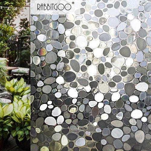 Rabbitgoo 3d pellicole per vetri casa pellicole adesive per finestre pellicola decorativa - Vetri a specchio per finestre ...
